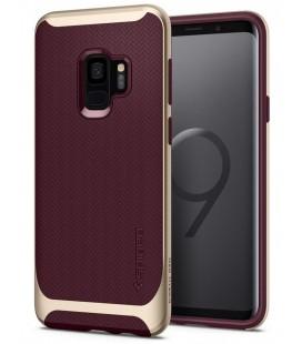 """Raudonas dėklas Samsung Galaxy S9 telefonui """"Spigen Neo Hybrid"""""""