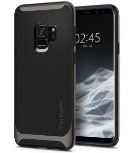 "Pilkas dėklas Samsung Galaxy S9 telefonui ""Spigen Neo Hybrid"""