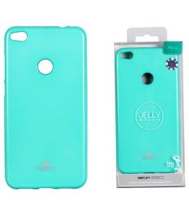 """Mėtos spalvos silikoninis dėklas Huawei P8/P9 Lite 2017 telefonui """"Mercury Goospery Pearl Jelly Case"""""""