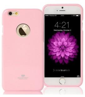 """Šviesiai rožinis dėklas Mercury Goospery """"Jelly Case"""" Apple iPhone 6/6s telefonui"""
