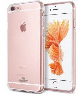 "Skaidrus dėklas Mercury Goospery ""Jelly Case"" iPhone 6/6s telefonui"