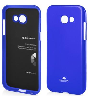 """Mėlynas dėklas Mercury Goospery """"Jelly Case"""" Samsung Galaxy A5 2017 A520F telefonui"""