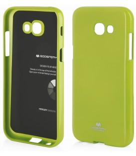"""Žalias dėklas Mercury Goospery """"Jelly Case"""" Samsung Galaxy A5 2017 A520F telefonui"""