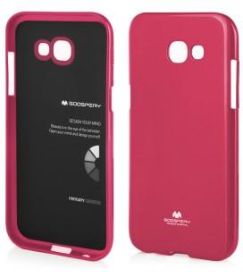"Rožinis dėklas Mercury Goospery ""Jelly Case"" Samsung Galaxy A5 2017 A520F telefonui"