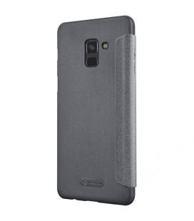 """Raudonas atverčiamas dėklas Samsung Galaxy A5 2017 telefonui """"Elegance"""""""