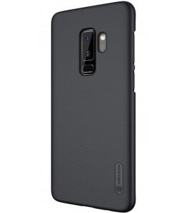 """Juodas plastikinis dėklas Samsung Galaxy S9 Plus telefonui """"Nillkin Frosted Shield"""""""