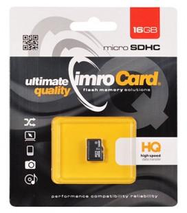 Atminties kortelė MicroSD IMRO 16GB UHS I Class 10
