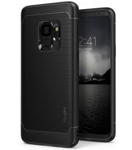 """Juodas dėklas Samsung Galaxy S9 telefonui """"Ringke Onyx"""""""