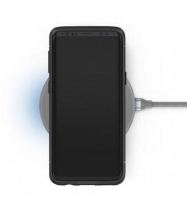 """Juodas silikoninis blizgantis dėklas Huawei P10 telefonui """"Glitter Case Elektro"""""""