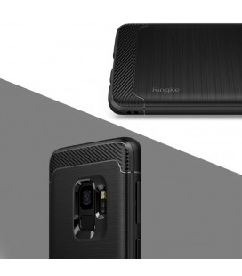 """Juodas silikoninis blizgantis dėklas Huawei P10 Lite telefonui """"Glitter Case Elektro"""""""