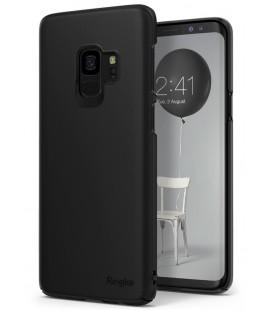 """Juodas dėklas Samsung Galaxy S9 telefonui """"Ringke Slim"""""""