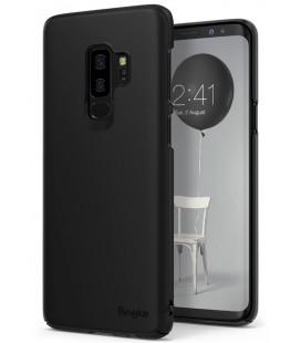 """Juodas dėklas Samsung Galaxy S9 Plus telefonui """"Ringke Slim"""""""