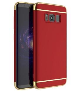 """Raudonas dėklas Samsung Galaxy S8 Plus telefonui """"iPaky 3in1"""""""