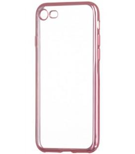 """Rausvai auksinės spalvos silikoninis dėklas Apple iPhone 7/8 telefonui """"Glossy"""""""