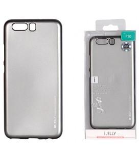 """Pilkas silikoninis dėklas Huawei P10 telefonui """"Mercury iJelly Case Metal"""""""