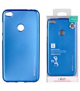 """Mėlynas silikoninis dėklas Huawei P8/P9 Lite 2017 telefonui """"Mercury iJelly Case Metal"""""""
