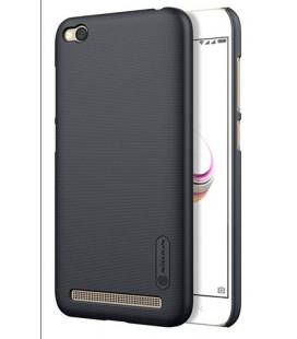 """Juodas plastikinis dėklas Xiaomi Redmi 5A telefonui """"Nillkin Frosted Shield"""""""