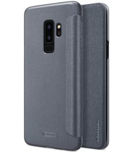 """Atverčiamas pilkas dėklas Samsung Galaxy S9 Plus telefonui """"Nillkin Sparkle"""""""