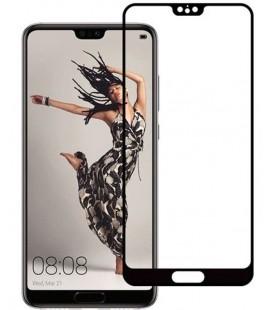 """Juodas apsauginis grūdintas stiklas Huawei P20 Pro telefonui """"Mocolo"""""""