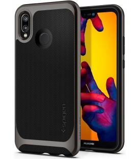 """Pilkas dėklas Huawei P20 Lite telefonui """"Spigen Neo Hybrid"""""""