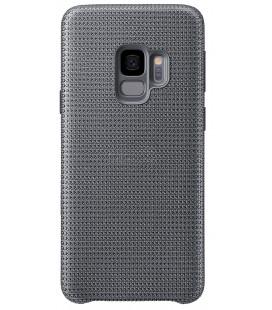 """Originalus pilkas dėklas """"Hyperknit Cover"""" Samsung Galaxy S9 telefonui """"EF-GG960FJE"""""""