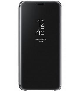 """Originalus juodas dėklas """"Clear View Standing Cover"""" Samsung Galaxy S9 telefonui """"EF-ZG960CBE"""""""