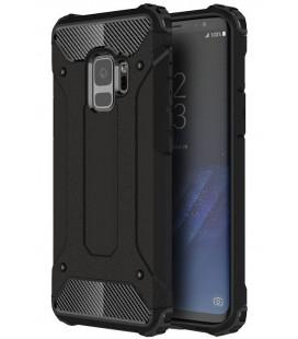 """Juodas dėklas Samsung Galaxy S9 telefonui """"Hybrid Armor Case"""""""