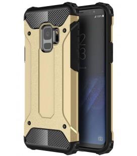 """Auksinės spalvos dėklas Samsung Galaxy S9 telefonui """"Hybrid Armor Case"""""""