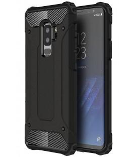 """Juodas dėklas Samsung Galaxy S9 Plus telefonui """"Hybrid Armor Case"""""""