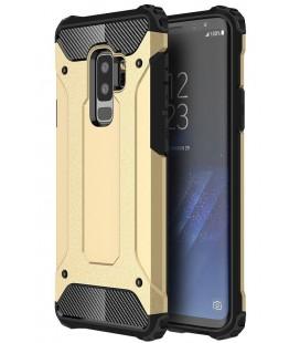 """Auksinės spalvos dėklas Samsung Galaxy S9 Plus telefonui """"Hybrid Armor Case"""""""