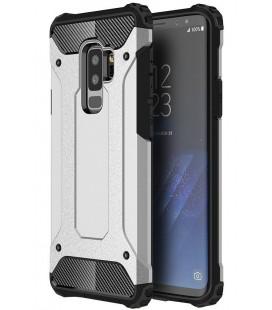 """Sidabrinės spalvos dėklas Samsung Galaxy S9 Plus telefonui """"Hybrid Armor Case"""""""