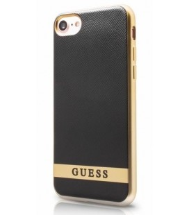 "Juodas dėklas Apple iPhone 7/8 telefonui ""Guess Classic Soft Case"""