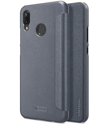 """Atverčiamas pilkas dėklas Huawei P20 Lite telefonui """"Nillkin Sparkle"""""""