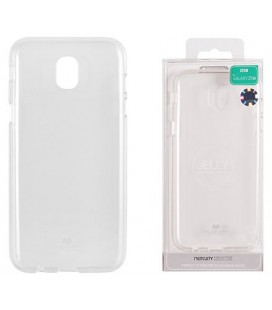 """Skaidrus silikoninis dėklas Samsung Galaxy J5 2017 telefonui """"Mercury Goospery Pearl Jelly Case"""""""