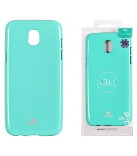"""Mėtos spalvos silikoninis dėklas Samsung Galaxy J5 2017 telefonui """"Mercury Goospery Pearl Jelly Case"""""""