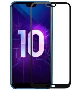 """Juodas apsauginis grūdintas stiklas Huawei Honor 10 telefonui """"Mocolo"""""""