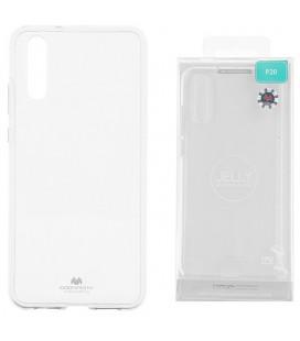 """Skaidrus silikoninis dėklas Huawei P20 telefonui """"Mercury Goospery Pearl Jelly Case"""""""