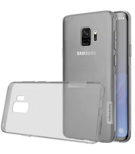 """Pilkas silikoninis dėklas Samsung Galaxy S9 telefonui """"Nillkin Nature"""""""