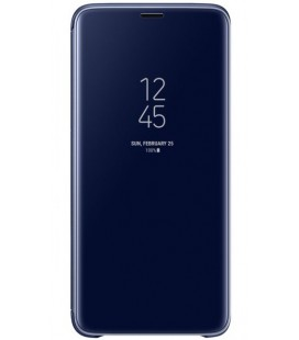 "Originalus mėlynas dėklas ""Clear View Standing Cover"" Samsung Galaxy S9 Plus telefonui ""EF-ZG965CLE"""