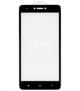 """5D Lenktas juodas apsauginis grūdintas stiklas CF Apple iPhone X telefonui """"Full Glue"""""""