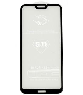 """5D Lenktas juodas apsauginis grūdintas stiklas CF Apple iPhone 8 telefonui """"Full Glue"""""""