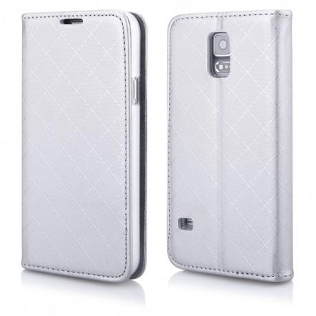 """Atverčiamas pilkas dėklas Samsung Galaxy S5 telefonui """"Royal"""""""