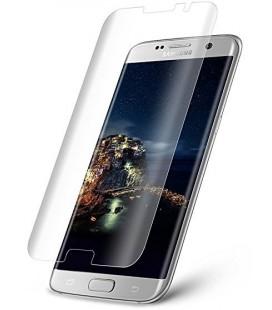 Lenktas skaidrus 3D apsauginis grūdintas stiklas CF Samsung Galaxy S7 Edge telefonui