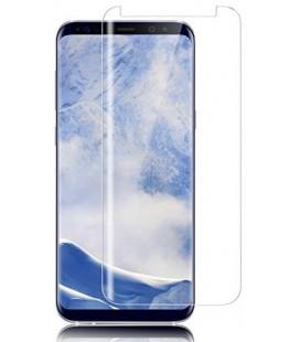 Lenktas visiškai skaidrus 3D apsauginis grūdintas stiklas CF Samsung Galaxy S9 telefonui