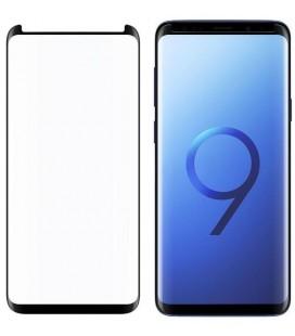 Lenktas juodas 3D apsauginis grūdintas stiklas CF Samsung Galaxy S9 Plus telefonui