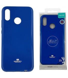 """Mėlynas silikoninis dėklas Huawei P20 Lite telefonui """"Mercury Goospery Pearl Jelly Case"""""""