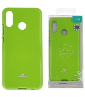 """Žalias silikoninis dėklas Huawei P20 Lite telefonui """"Mercury Goospery Pearl Jelly Case"""""""