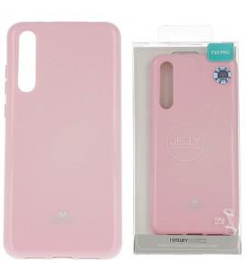 """Šviesiai rožinis silikoninis dėklas Huawei P20 Pro telefonui """"Mercury Goospery Pearl Jelly Case"""""""