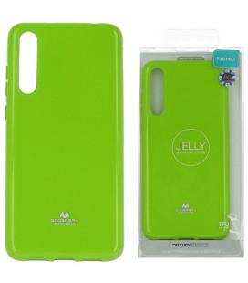 """Žalias silikoninis dėklas Huawei P20 Pro telefonui """"Mercury Goospery Pearl Jelly Case"""""""
