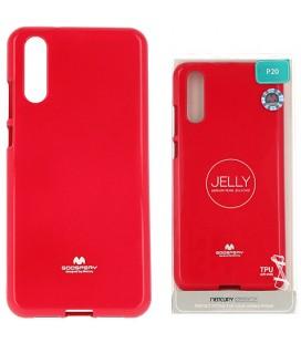 """Rožinis silikoninis dėklas Huawei P20 telefonui """"Mercury Goospery Pearl Jelly Case"""""""